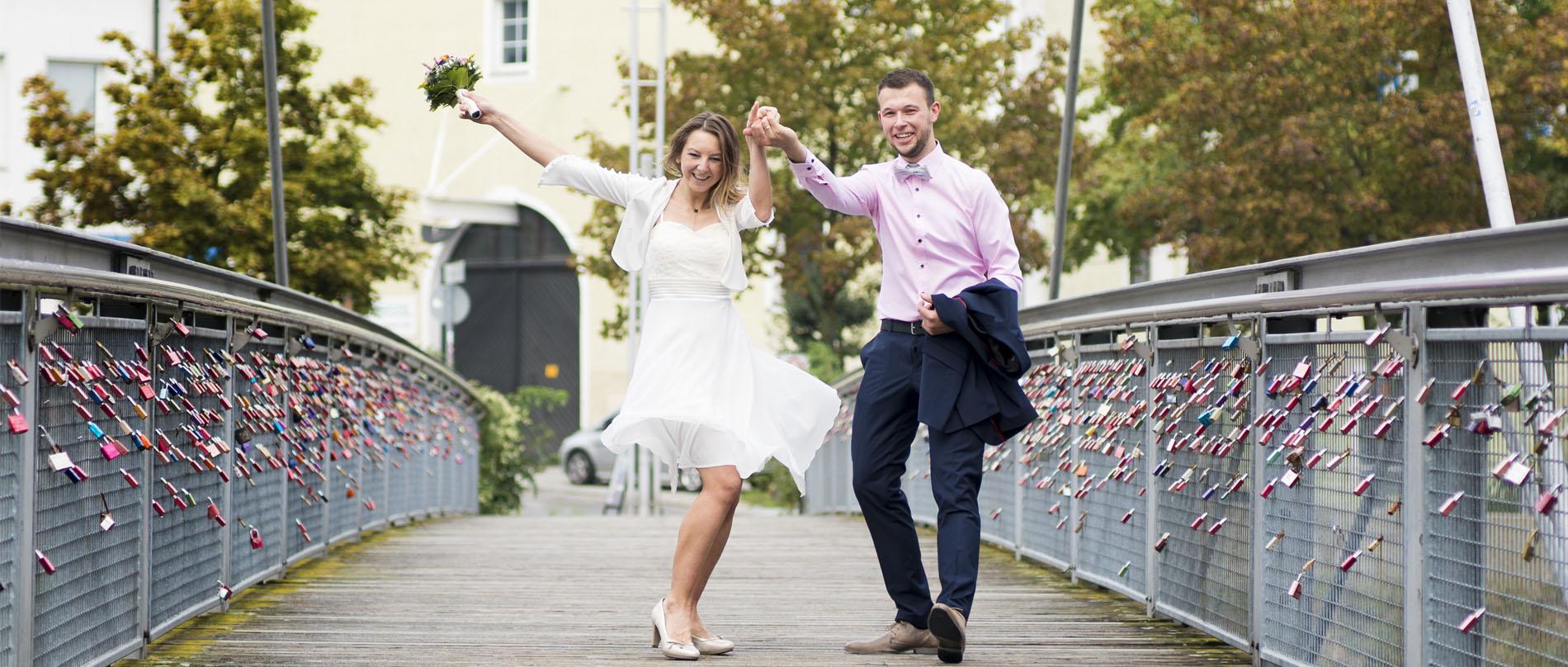 Hochzeitsfotos Reportage & Brautpaar